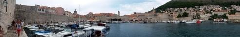 Town Harbor at Dubrovnik